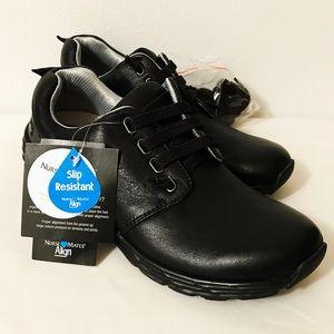 Leather Slip Resistant Velocity Black No Tie Laces
